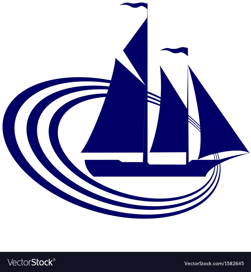 Sailing ship-19 vector | Price: 1 Credit (USD $1)