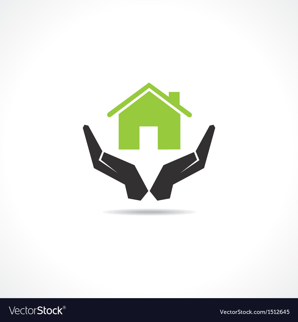 Secure home concept vector | Price: 1 Credit (USD $1)