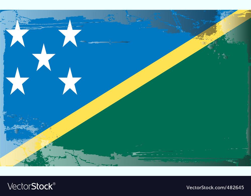Solomon islands national flag vector   Price: 1 Credit (USD $1)