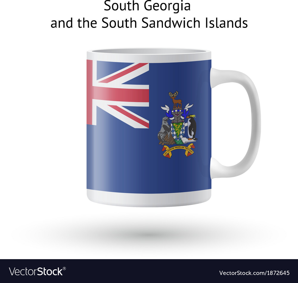 South georgia and sandwich islands flag souvenir vector | Price: 1 Credit (USD $1)