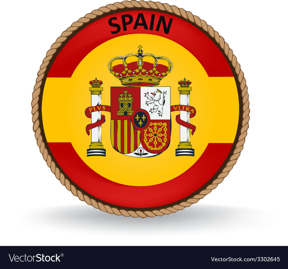 Spain seal vector | Price: 1 Credit (USD $1)