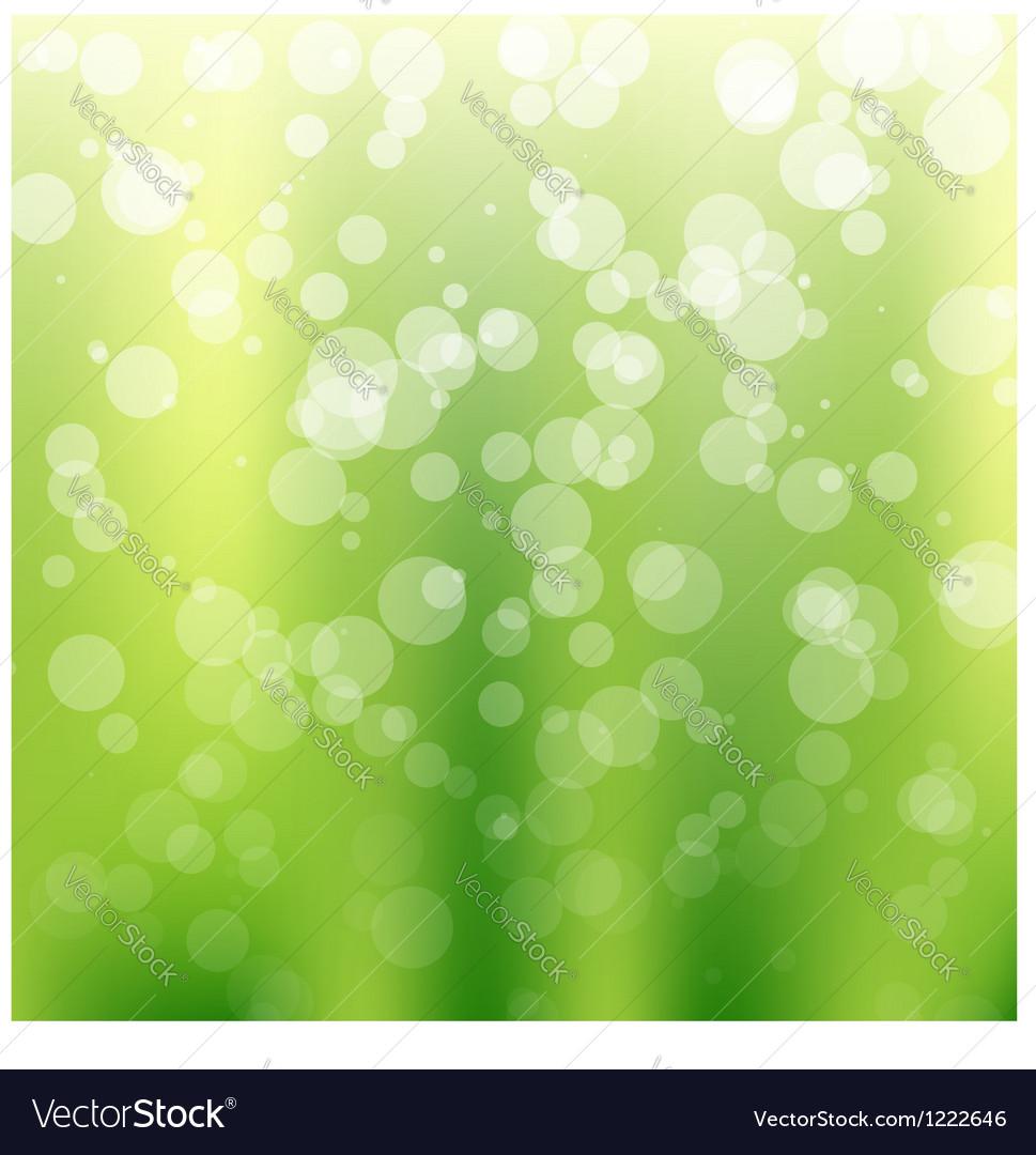 Green bokeh background vector   Price: 1 Credit (USD $1)