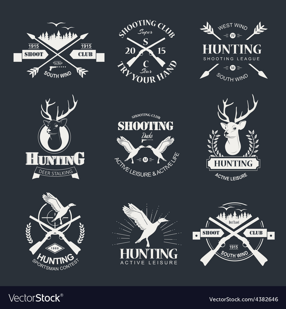Hunting vector | Price: 1 Credit (USD $1)