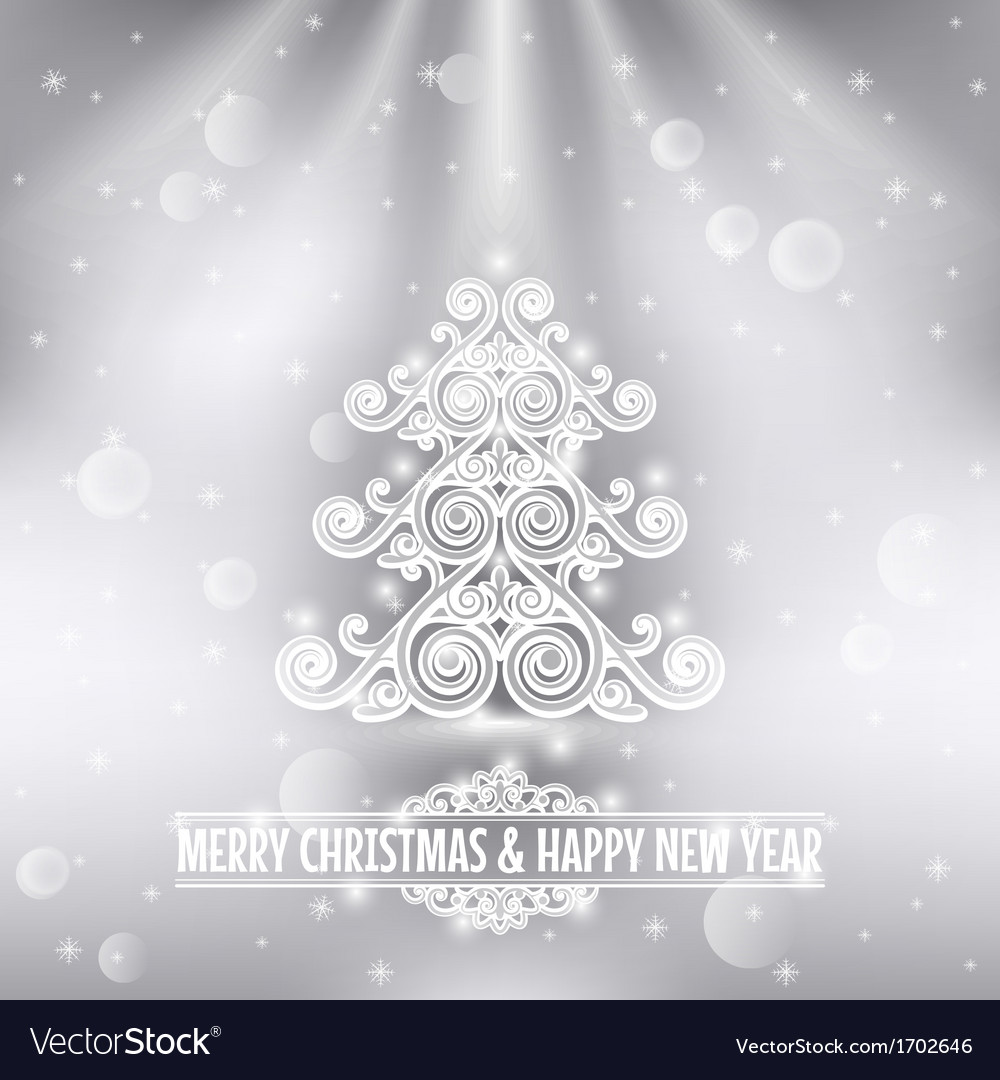 Merry christmas happy new year holiday background vector | Price: 1 Credit (USD $1)