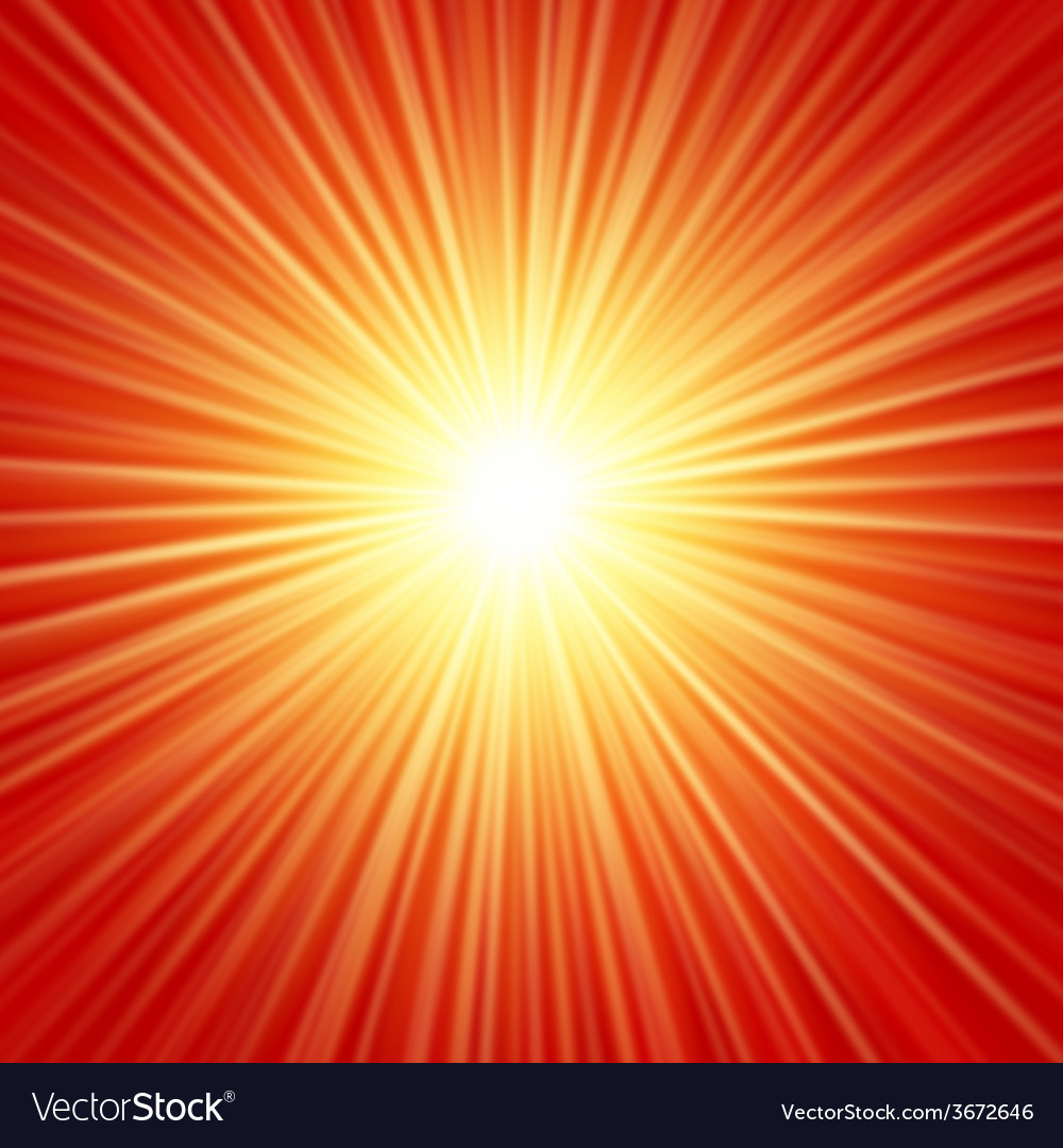 Realistic sun burst with flare with spare f vector | Price: 1 Credit (USD $1)