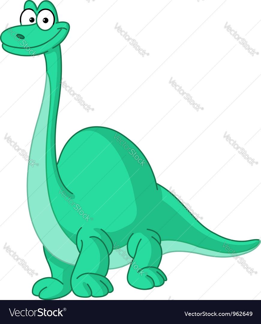 Brontosaurus dinosaur vector | Price: 1 Credit (USD $1)
