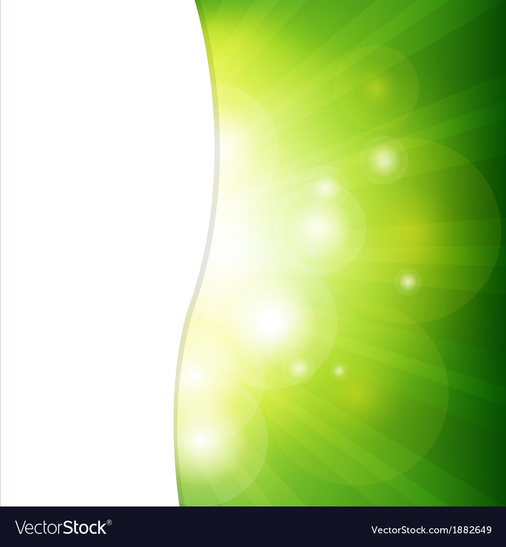 Green background with sunburst vector | Price: 1 Credit (USD $1)