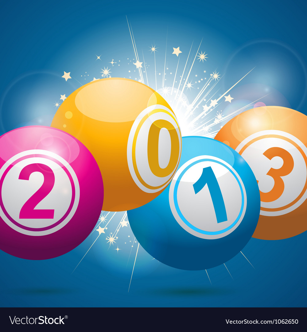 2013 bingo lottery balls vector | Price: 1 Credit (USD $1)