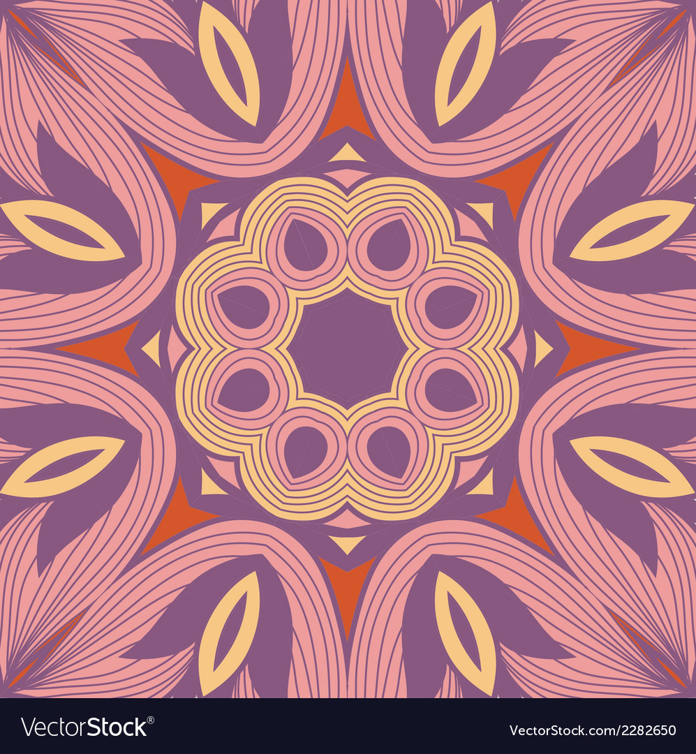 Background from round lace pattern with natural vector | Price: 1 Credit (USD $1)