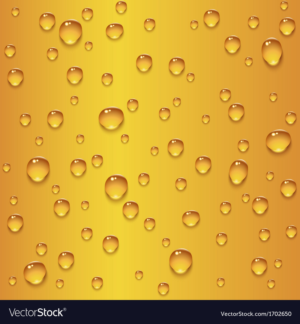 Beer drops seamless texture vector | Price: 1 Credit (USD $1)