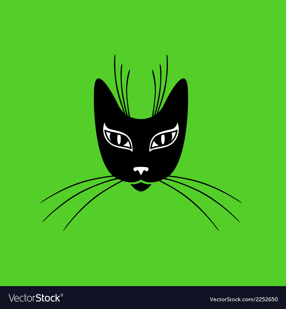 Cat mask vector | Price: 1 Credit (USD $1)