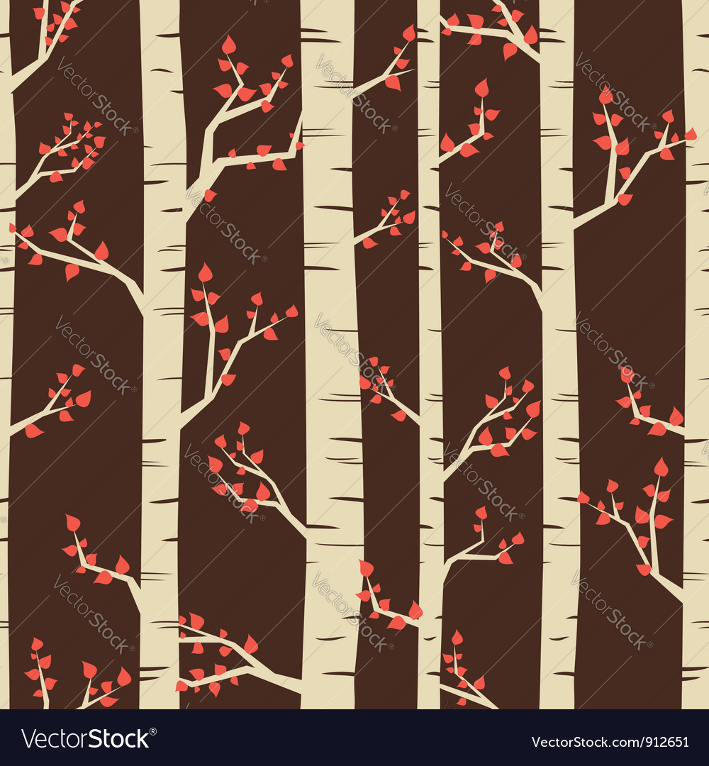 Birch pattern vector | Price: 1 Credit (USD $1)