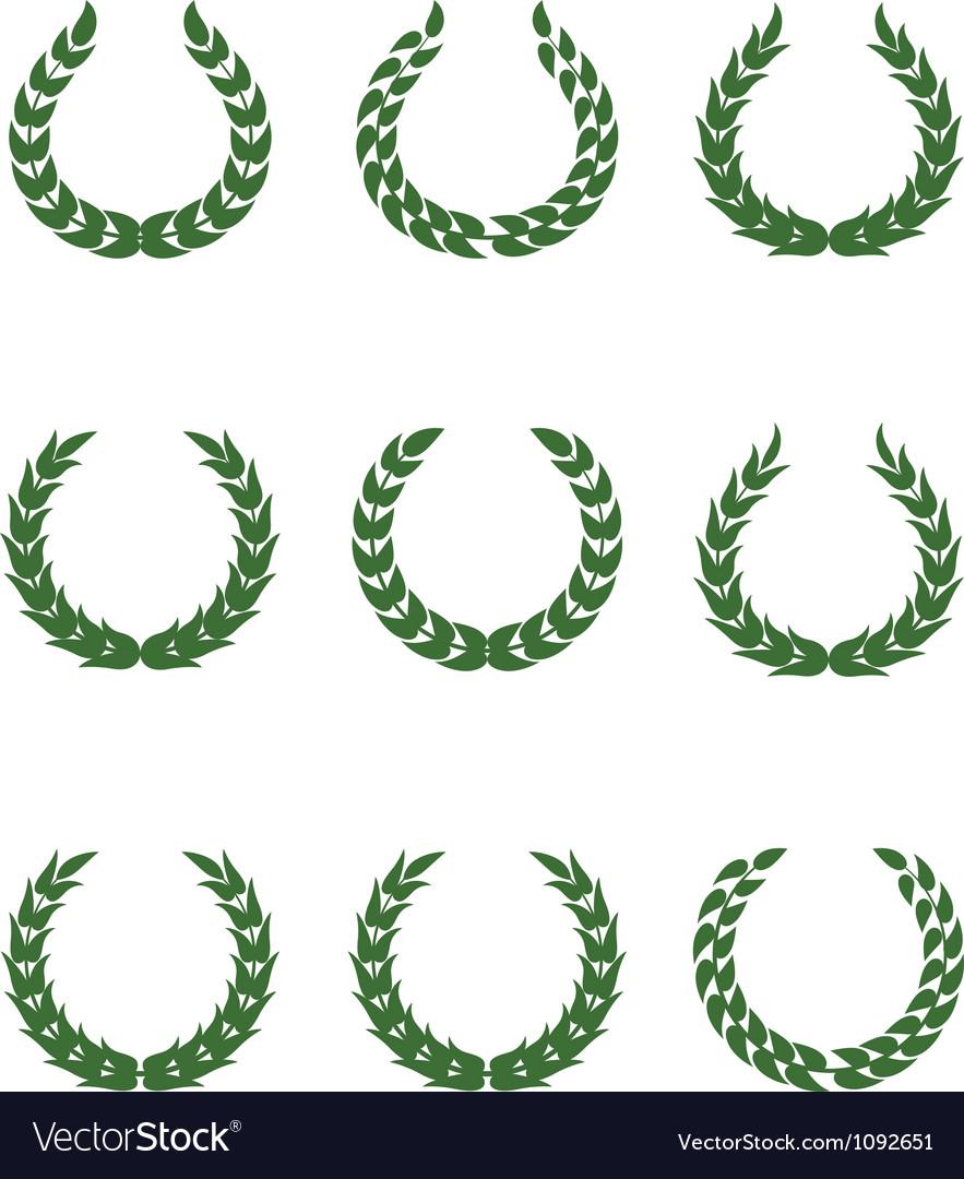Laurel wreaths vector   Price: 1 Credit (USD $1)