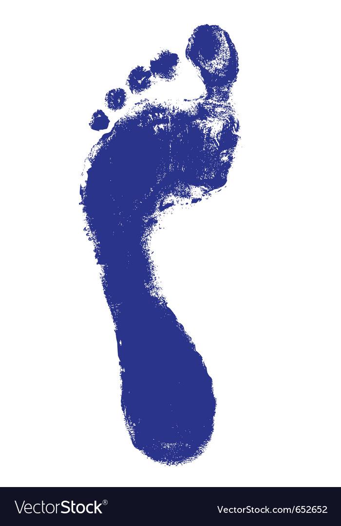 Footprint vector | Price: 1 Credit (USD $1)
