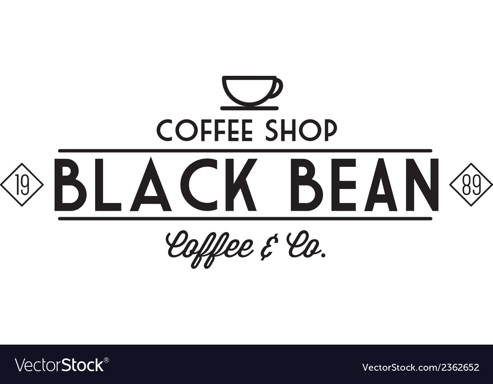 Vintage coffee logo 3 vector | Price: 1 Credit (USD $1)