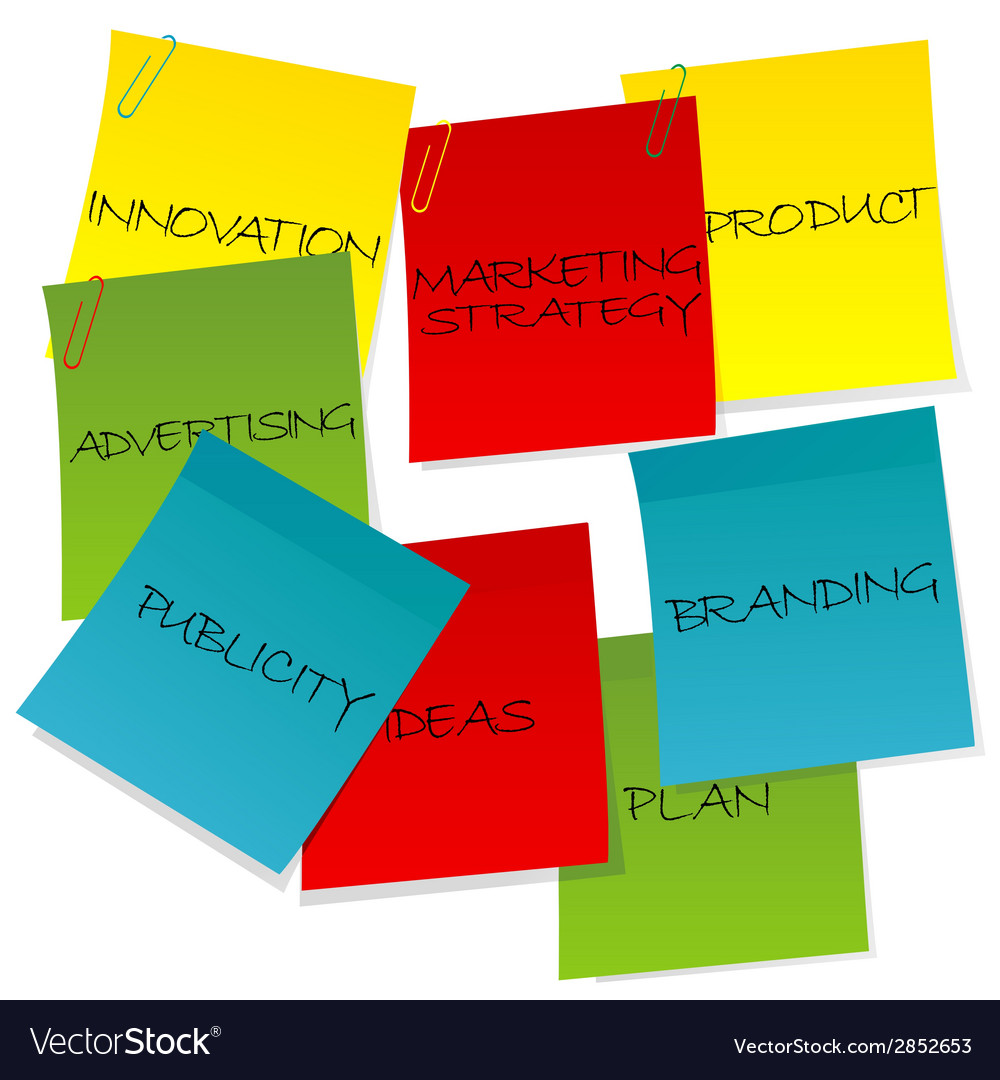 Marketing strategy concept vector | Price: 1 Credit (USD $1)