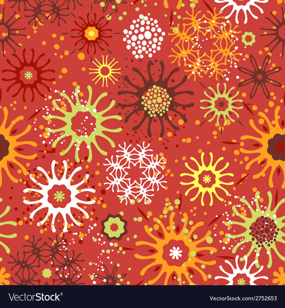 Seamless pattern with doodle ornament vector | Price: 1 Credit (USD $1)