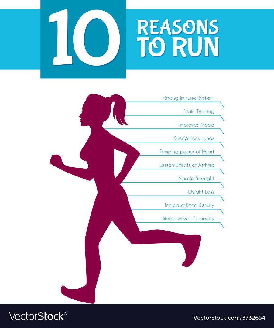 10 top reasons to run vector | Price: 1 Credit (USD $1)