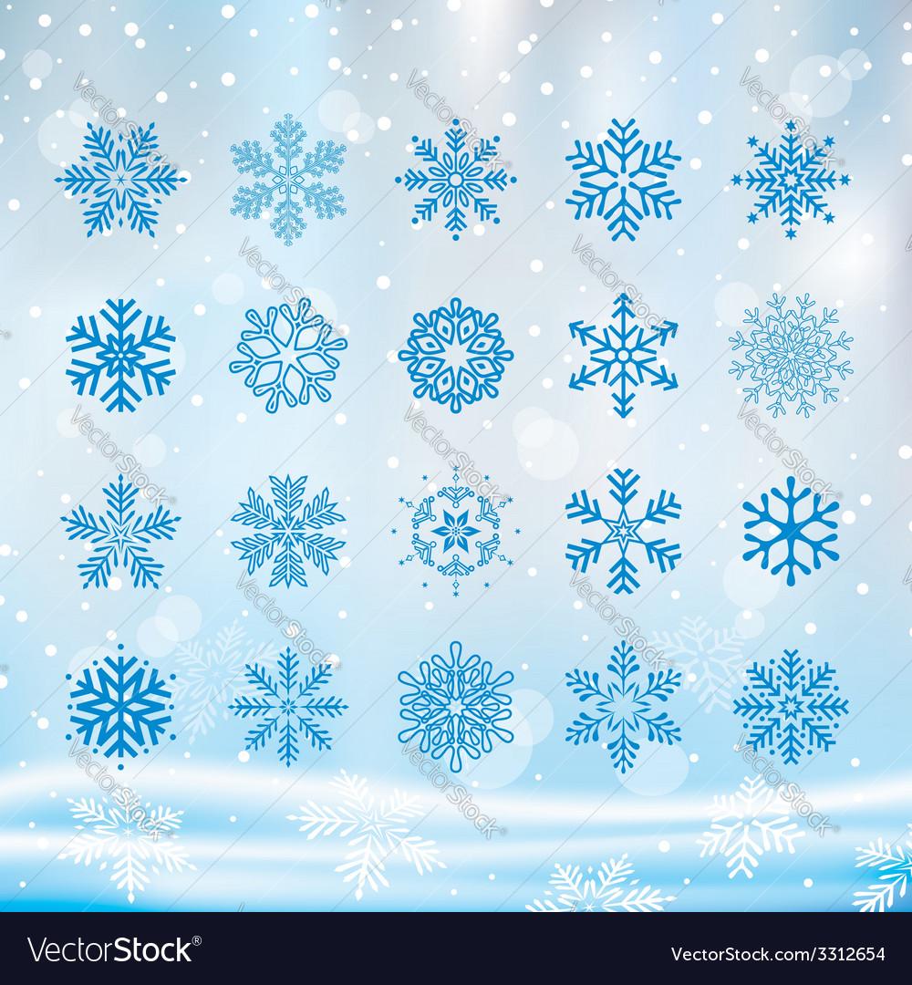 Christmas snowflake vector | Price: 1 Credit (USD $1)