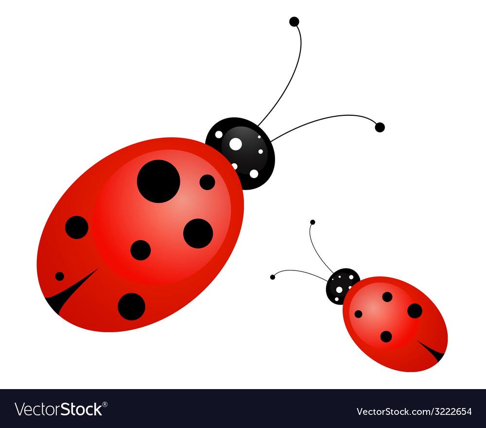 Ladybug vector | Price: 1 Credit (USD $1)