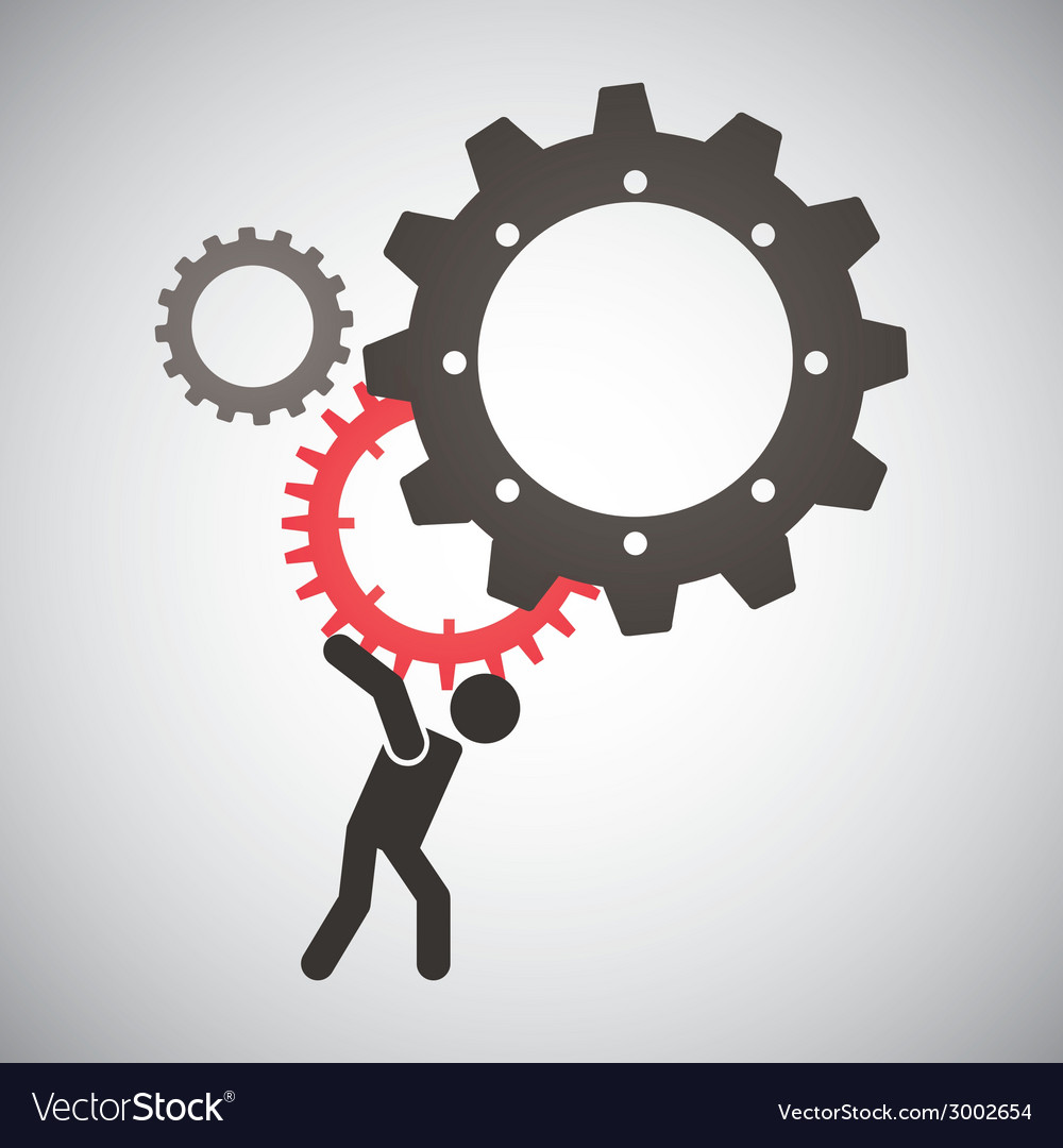 Worker design vector | Price: 1 Credit (USD $1)