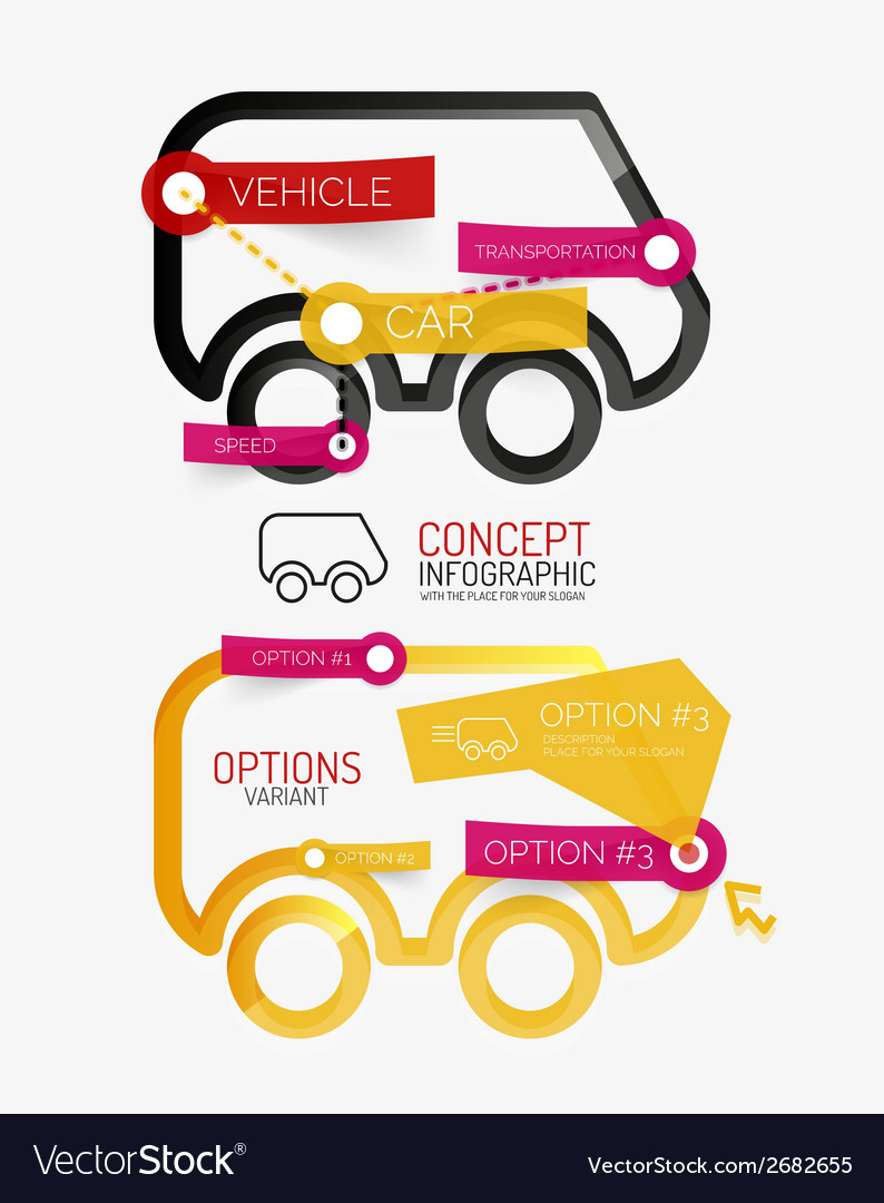 Car infographic tag cloud vector | Price: 1 Credit (USD $1)