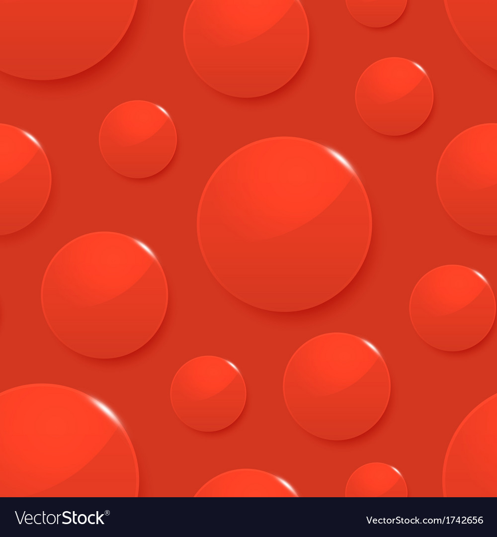 Blood drops on red seamless background vector   Price: 1 Credit (USD $1)