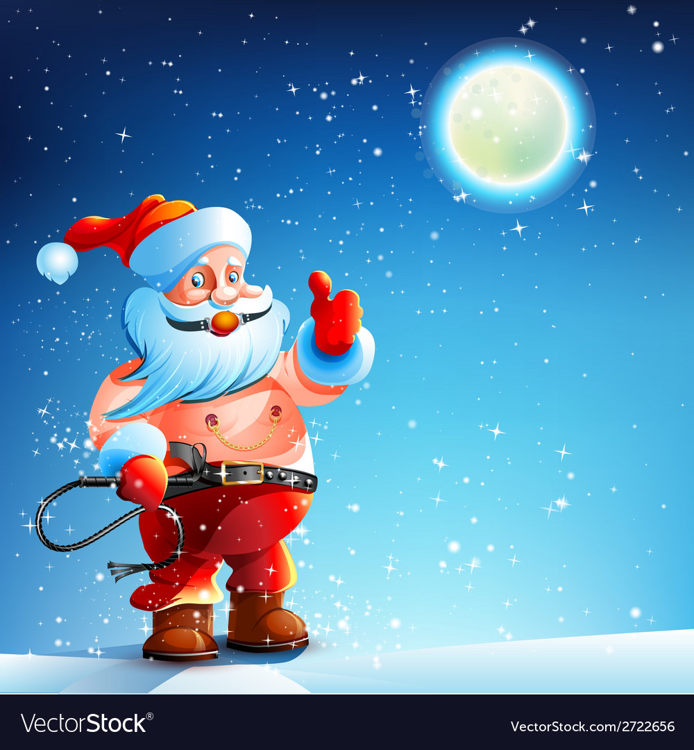 Costume bdsm gag santa claus vector | Price: 3 Credit (USD $3)