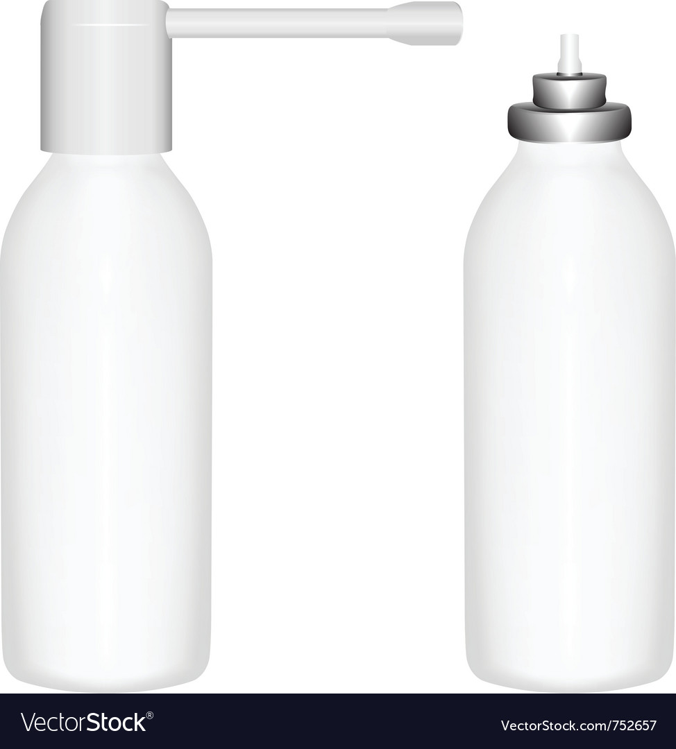 Bottle spray vector | Price: 1 Credit (USD $1)