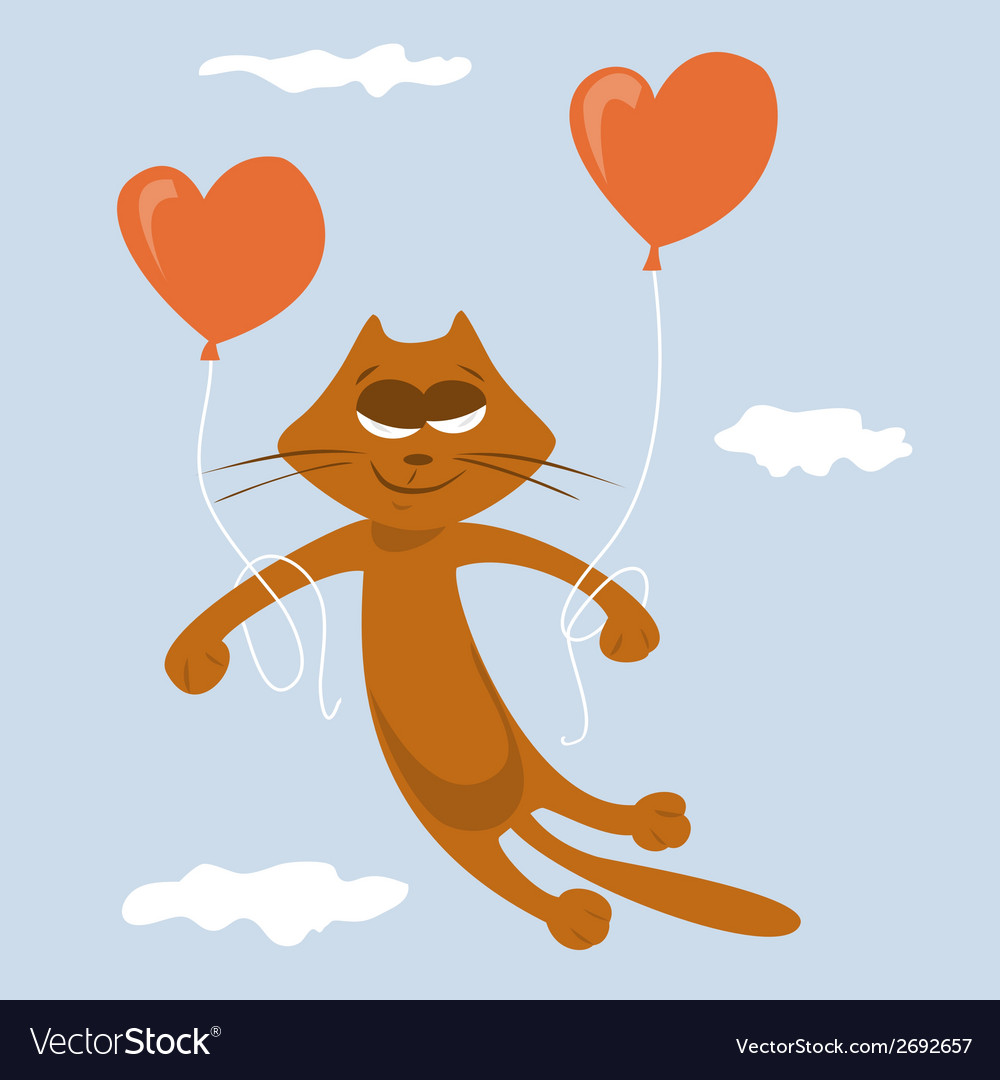 Cat lover vector | Price: 1 Credit (USD $1)