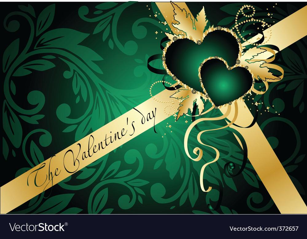 Elegant valentines vector | Price: 1 Credit (USD $1)