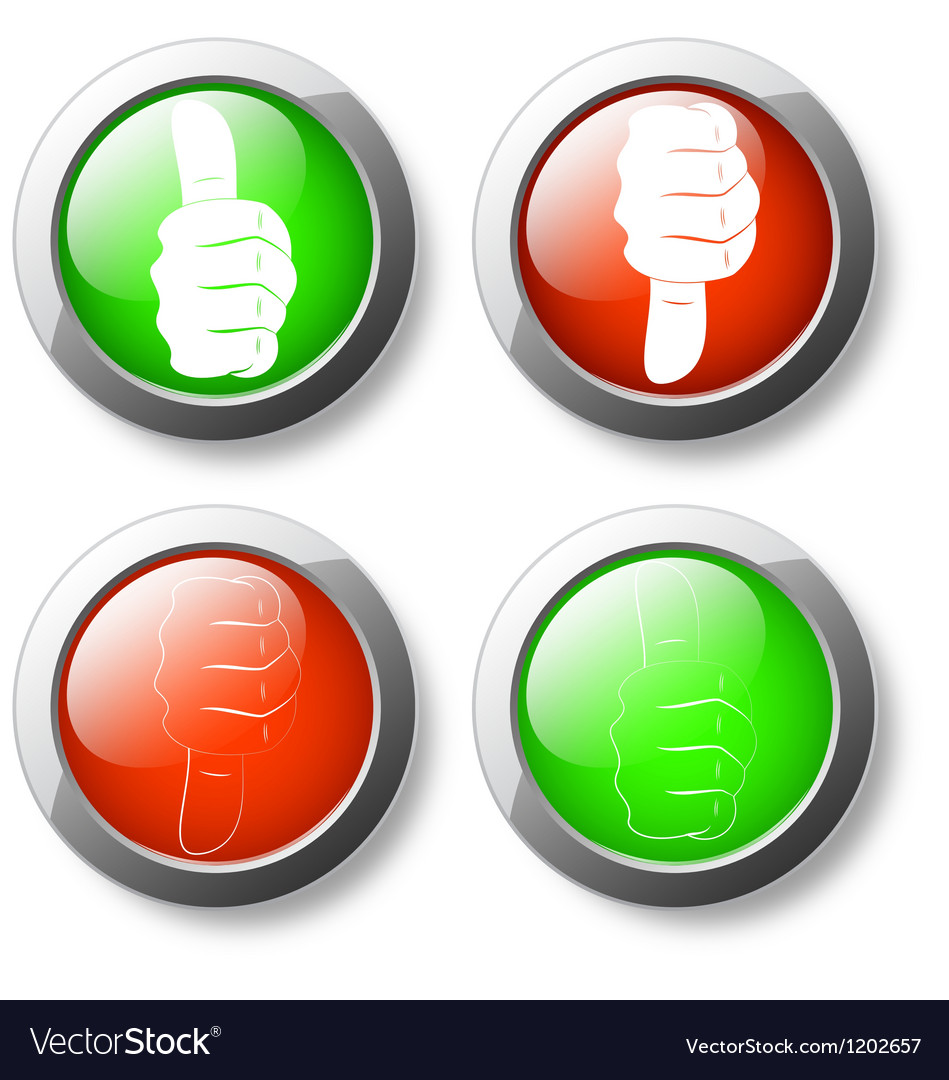 Like unlike button icon vector | Price: 1 Credit (USD $1)