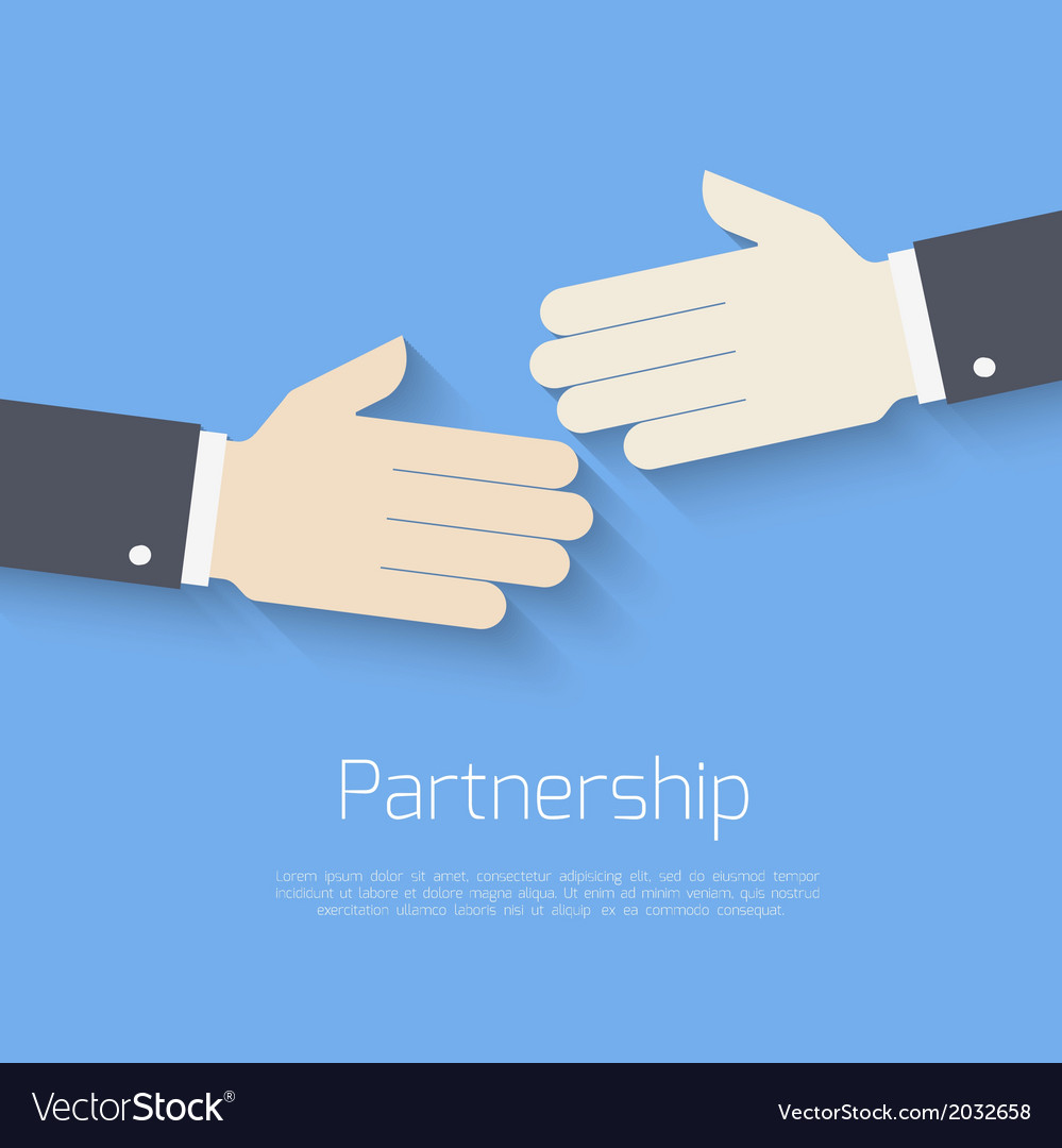 Partnership concept vector | Price: 1 Credit (USD $1)
