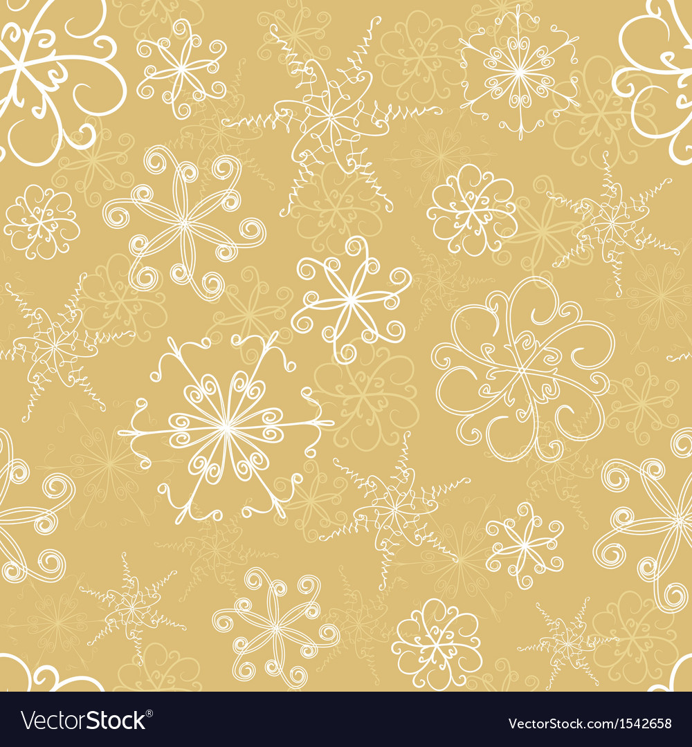 Snowflakes seamless pattern vector   Price: 1 Credit (USD $1)