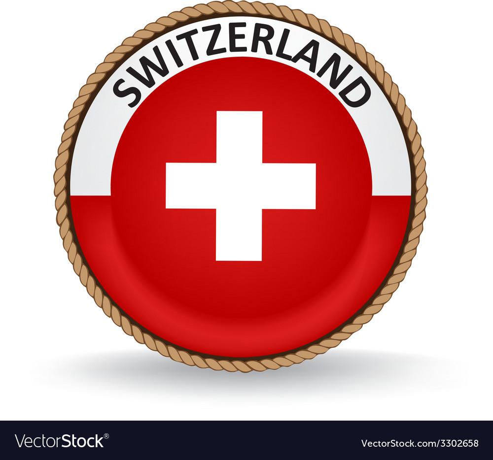 Switzerland seal vector | Price: 1 Credit (USD $1)