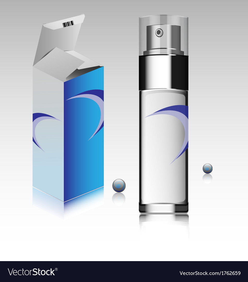 Fragrance bottle vector | Price: 1 Credit (USD $1)