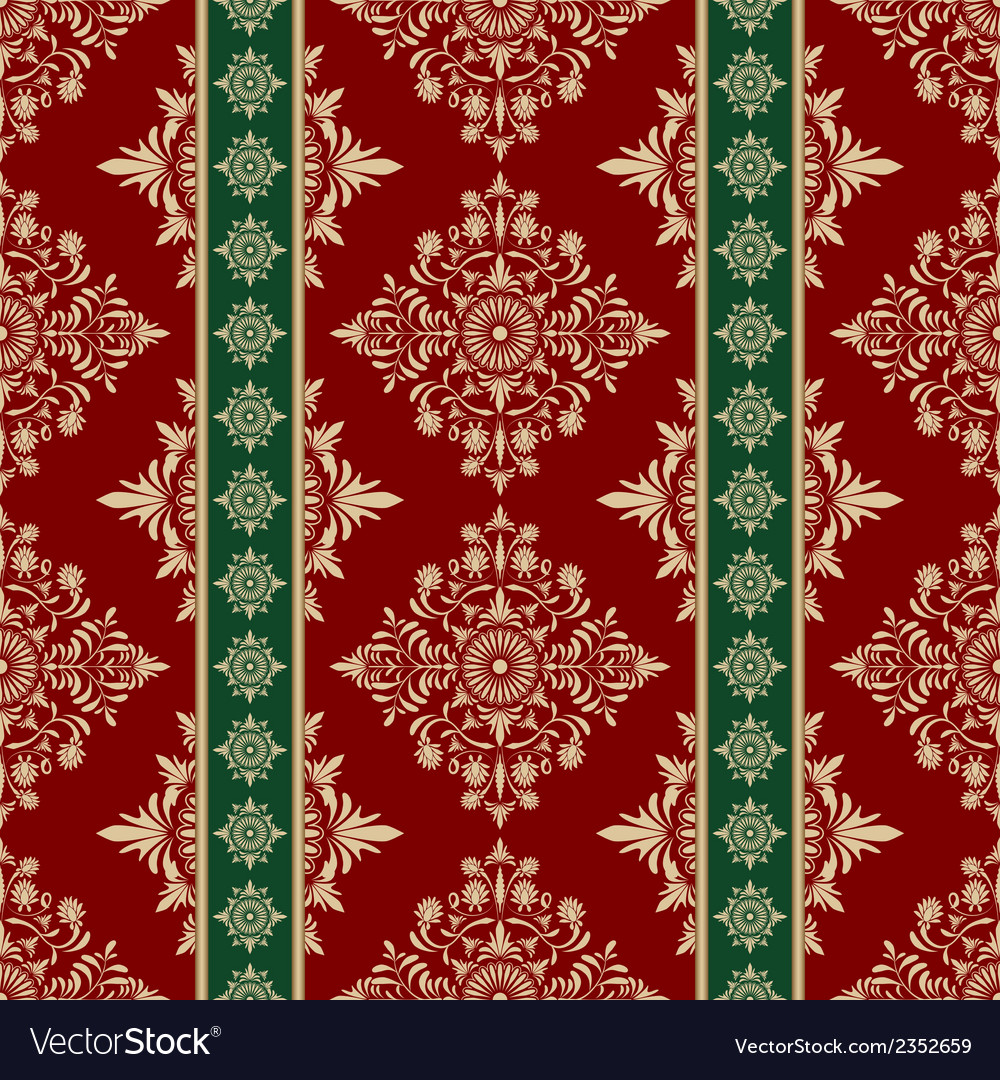Retro seamless pattern vector | Price: 1 Credit (USD $1)