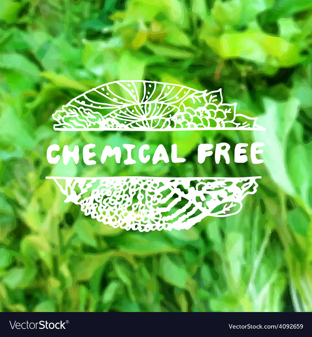 Zentangle element on blurred background chemical vector   Price: 1 Credit (USD $1)