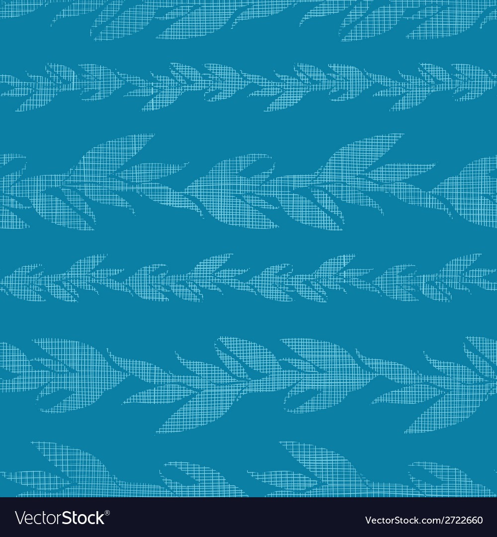 Blue vines stripes textile textured seamless vector | Price: 1 Credit (USD $1)
