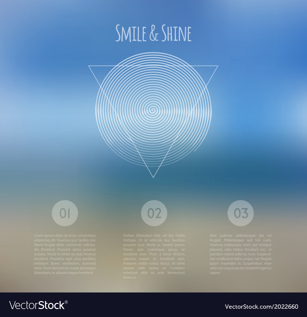 Blurred web design template vector | Price: 1 Credit (USD $1)