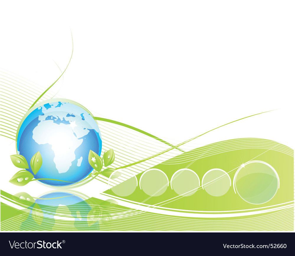 Green page vector | Price: 1 Credit (USD $1)