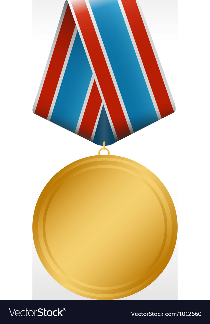 Medal round vector | Price: 1 Credit (USD $1)