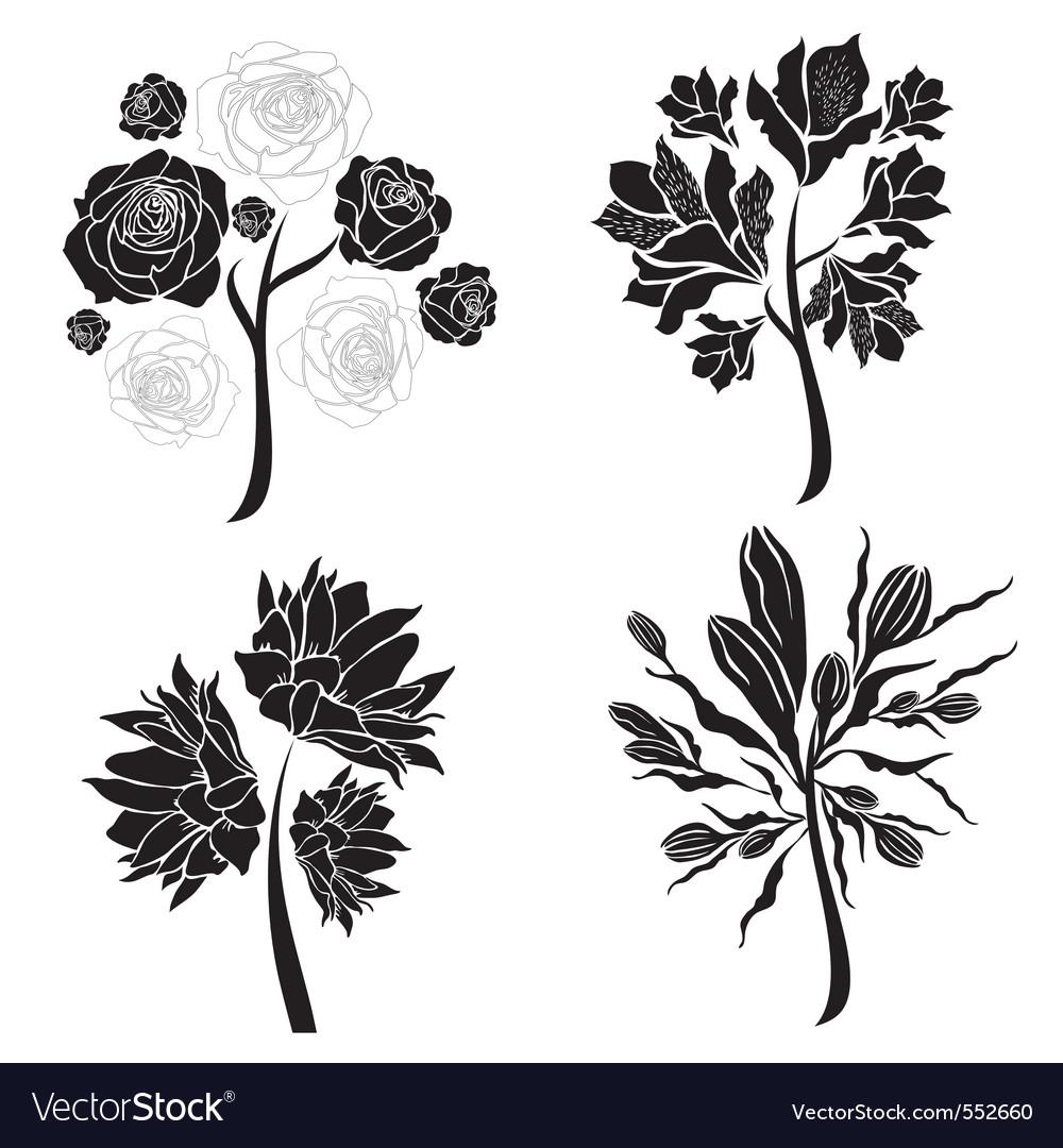 Spring tree design elements vector   Price: 1 Credit (USD $1)