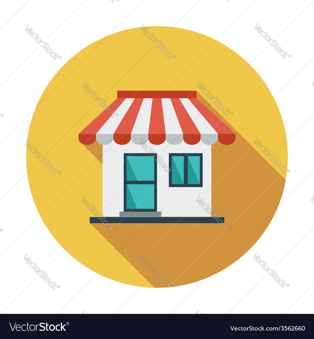 Store icon vector | Price: 1 Credit (USD $1)