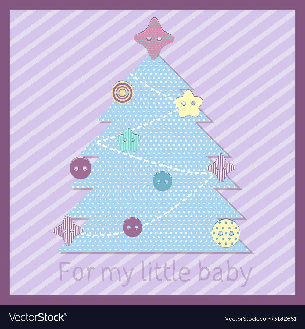 Baby tree vector | Price: 1 Credit (USD $1)