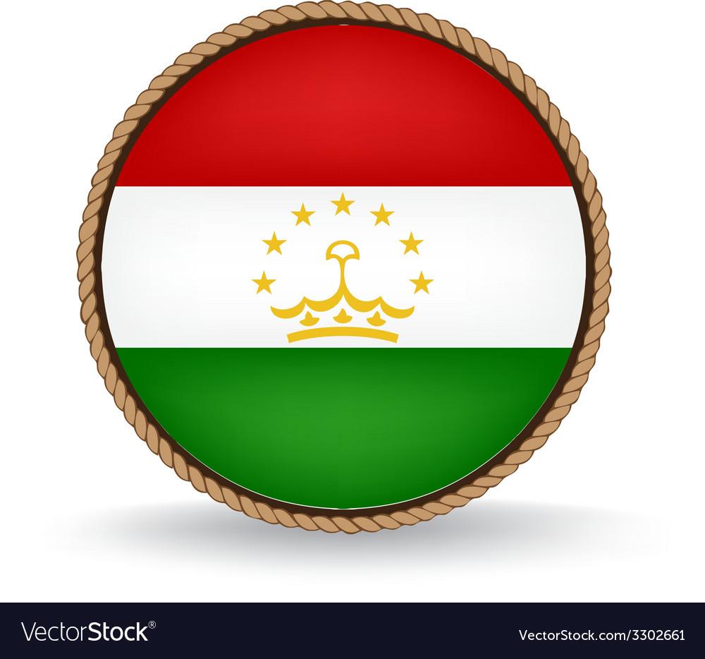 Tajikistan seal vector | Price: 1 Credit (USD $1)