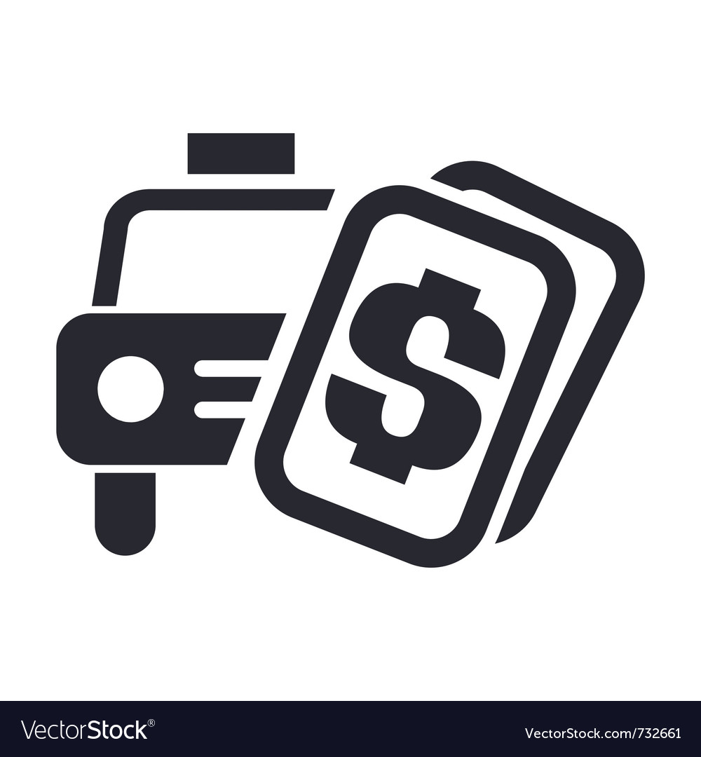 Taxi price vector | Price: 1 Credit (USD $1)