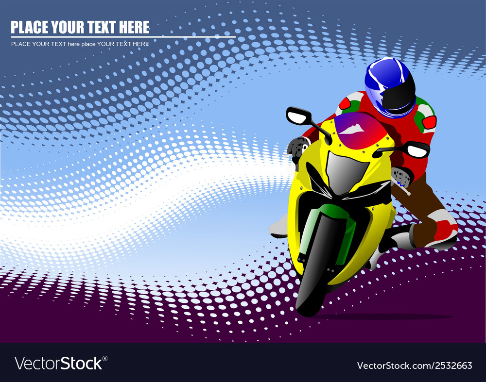 Al 0934 moto 01 vector | Price: 1 Credit (USD $1)