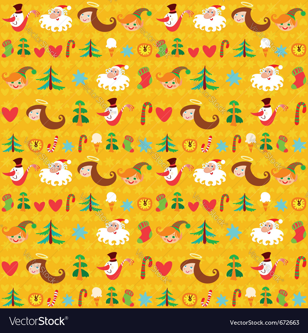 Christmas background new years wallpapers wrapping vector | Price: 1 Credit (USD $1)