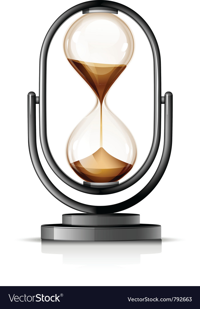 Hourglass vector | Price: 3 Credit (USD $3)